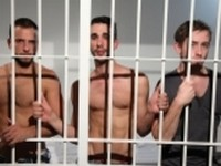 Three Up UK Naked Men