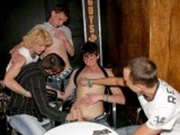 Creamed Jeans Party at Guys Go Crazy