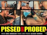 Pissed and Probed Alessio Romero and Kris Anderson at Titan Men