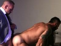 Captive Men At Play