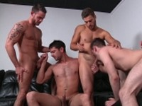 Brother Husbands Jizz Orgy