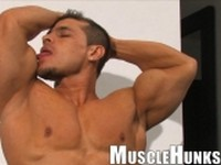 Clayton Cobb at Muscle Hunks
