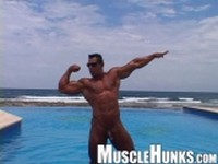 More Ezequiel Martinez at Muscle Hunks