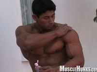 Stud Ko Ryu at Muscle Hunks