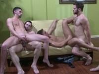 The Key Party Jizz Orgy