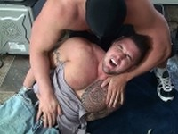 Ronnie J Hogtie Torture Buff and Bound