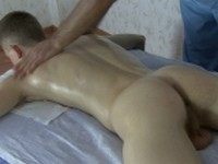 Relaxing Body Massage for Twink Crazy Doctors