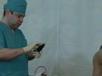 Administering Deep Dildo Drilling Crazy Doctors