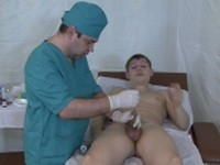 Excruciating Sensation for Twink Crazy Doctors