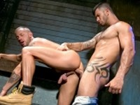Hung Americans 1 Adam and Tyler Raging Stallion