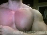 Pecs American Muscle Hunks