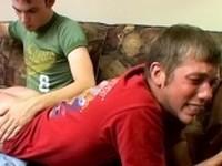 Bad Boys Love a Spanking Full Skater Spank