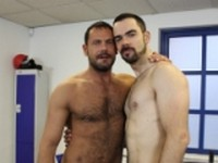 Jason Torres and Dolan Wolf at Alpha Males
