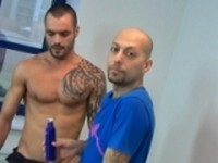 Behind the scene December 2011 at Alpha Males