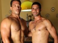 Rocky and Fabricio at World of Men