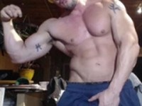 Flex and Stroke American Muscle Hunks