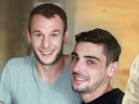 Guillaume and Nick UK Naked Men