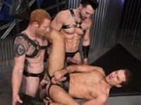 Submissive Threesome Hot House