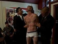 Vennue The Gay Mafia Bound in Public