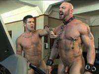 Bondage Boot Camp Workout at Bound Gods