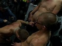 Young Stud at Bound in Public