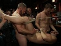 Bryan Spanked Now at Bound in Public