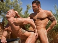 Letterio and Johnny V Raging Stallion