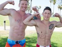 Jimmy and David at Sean Cody