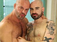 Matteo with Carlo Butch Dixon