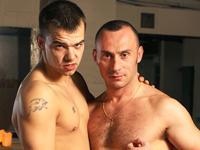 Matt and Robin UK Naked Men