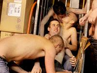 Warehouse Orgy Part 1 Euroboy XXX