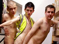 Warehouse Orgy Part 4 Euroboy XXX